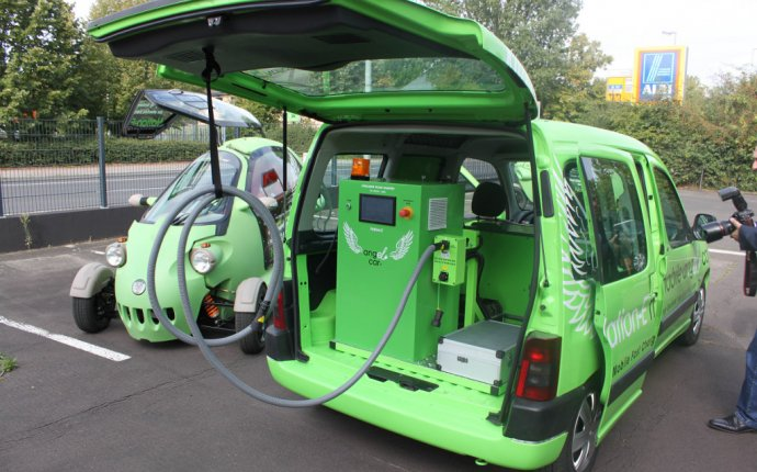 Angel Car: World s First Mobile Charging Station For Electric Cars