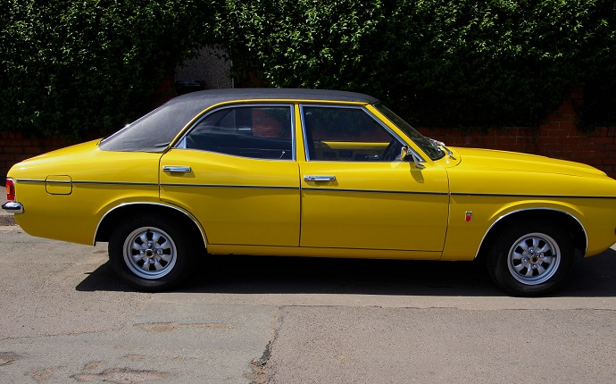 Ford Cortina MK3 was one of the most popular and the best selling cars in Britain