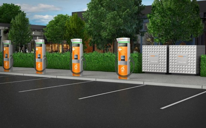 Fast charging stations electric Cars