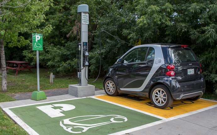 Ontario electric Car charging stations