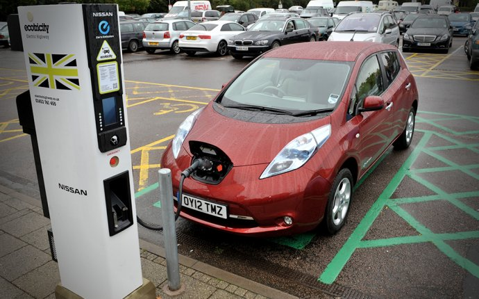 Electric Car charging Station London